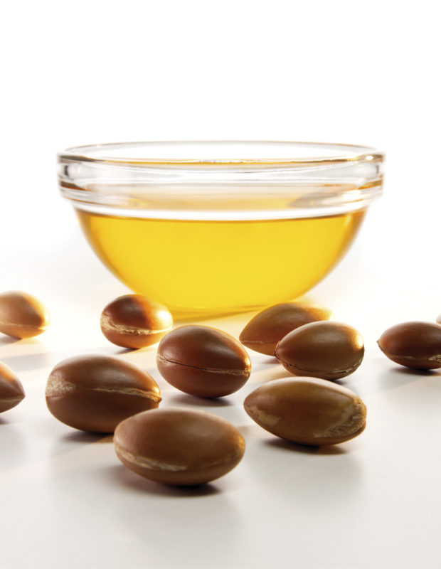 Argan Oil And Seeds
